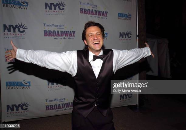 Raul Esparza during 4th Annual 'Broadway Under the Stars' at Bryant Park in New York City New York United States