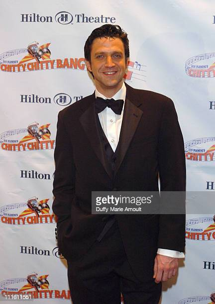 Raul Esparza during 'Chitty Chitty Bang Bang' Broadway Opening Night Curtain Call and After Party at The Hilton Theatre and Hilton New York Hotel...