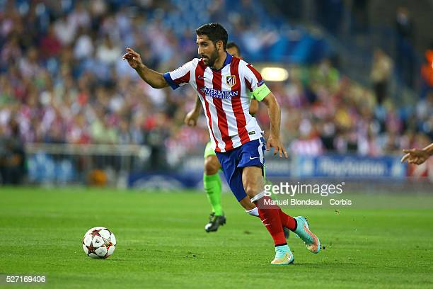 Raul Garcia of Club Atletico de Madrid during the UEFA Champions League Group A football match between Club Atletico de Madrid and Juventus FC at the...