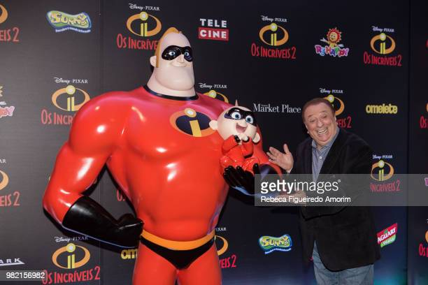 General view of the Sau Paulo Premiere of Incredibles 2 at Shopping Market Place on June 23 2018 in Sau Paulo Brazil