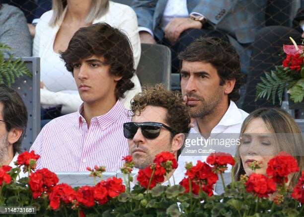 Raul Gonzalez Blanco attends the men's final on day 9 of the Mutua Madrid Open at La Caja Magica on May 12 2019 in Madrid Spain