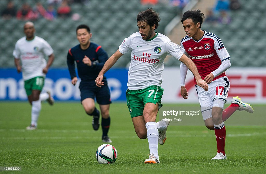 2015 Lunar New Year Cup - South China v New York Cosmos : News Photo