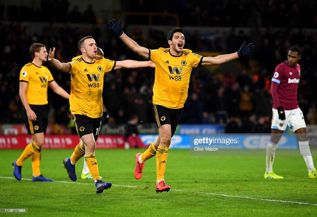 Wolverhampton Wanderers v West Ham United - Premier League : News Photo