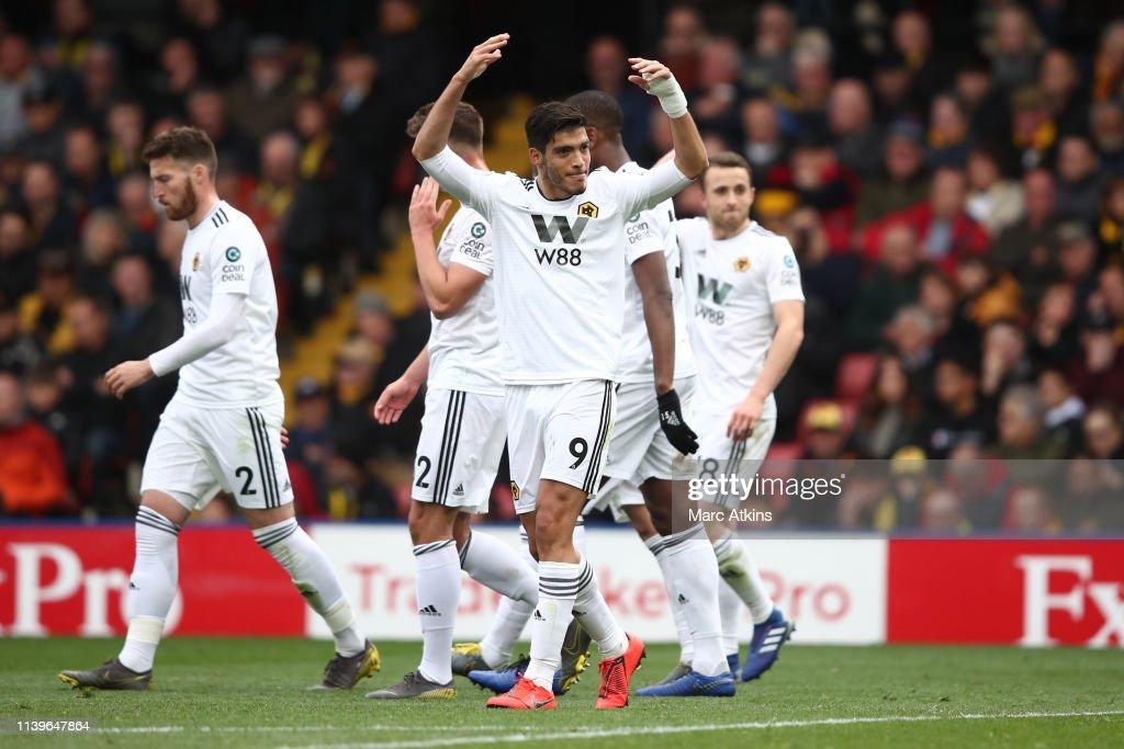 Watford FC v Wolverhampton Wanderers - Premier League : News Photo