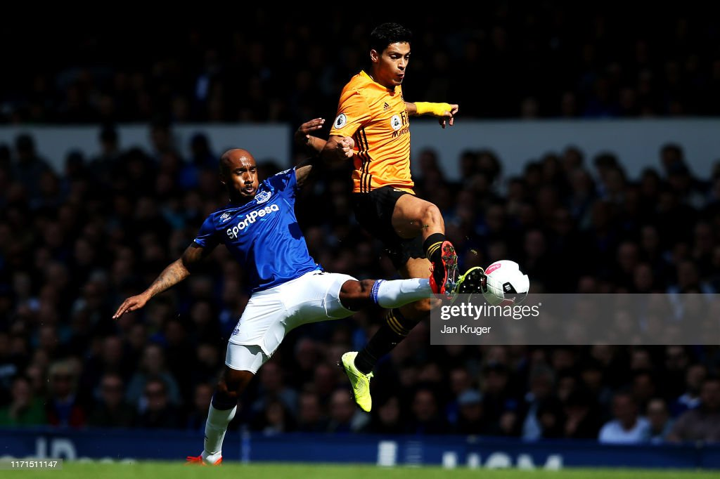 Everton FC v Wolverhampton Wanderers  - Premier League : News Photo