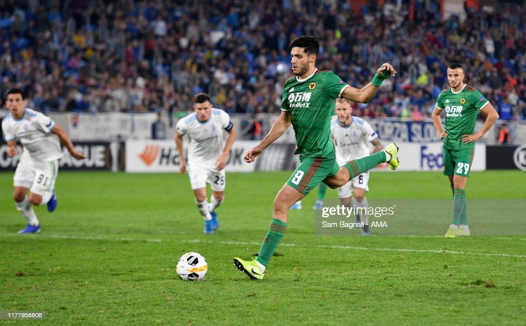 Slovan Bratislava v Wolverhampton Wanderers: Group K - UEFA Europa League : News Photo