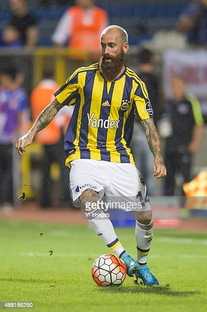 Raul Jose Trindade Meireles of Fenerbahce during the Super Lig match between Kasimpasa SK and Fenerbahce on September 13 2015 at the Recep Tayyip...
