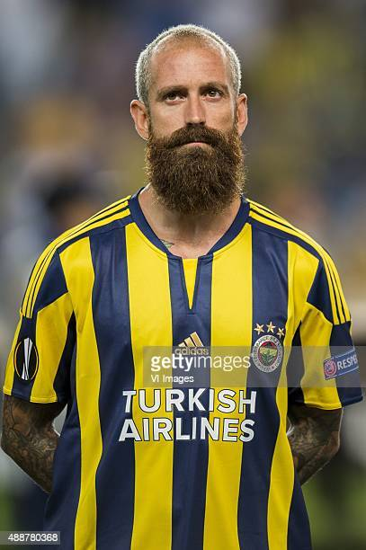 Raul Jose Trindade Meireles of Fenerbahce during the UEFA Europa League match between Fenerbahce SK v Molde FK on September 17 2015 at the Sukru...
