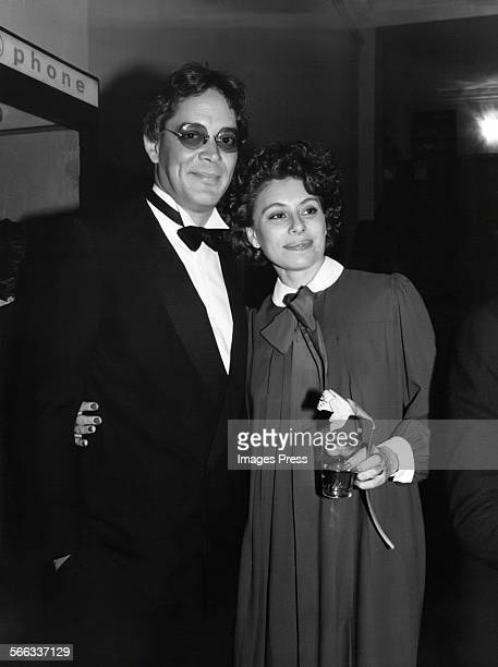Raul Julia and Merel Poloway circa 1980s in New York City