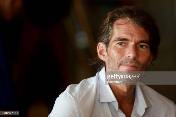 Raul MartinezOstos country manager for Barclays Bank Mexico SA listens during an interview on the sidelines of the 80th annual Mexican Banking...