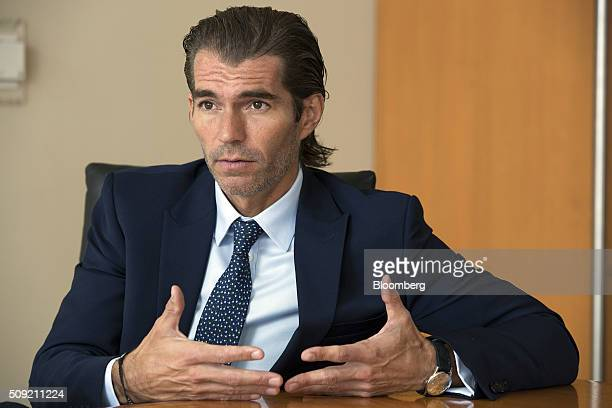 Raul MartinezOstos head of Mexican operations for Barclays Plc speaks during an interview in Mexico City Mexico on Tuesday Feb 9 2016 MartinezOstos...