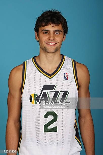 Raul Neto of the Utah Jazz pose for a photo at Zions Bank Basketball Center on June 28 2013 in Salt Lake City Utah NOTE TO USER User expressly...