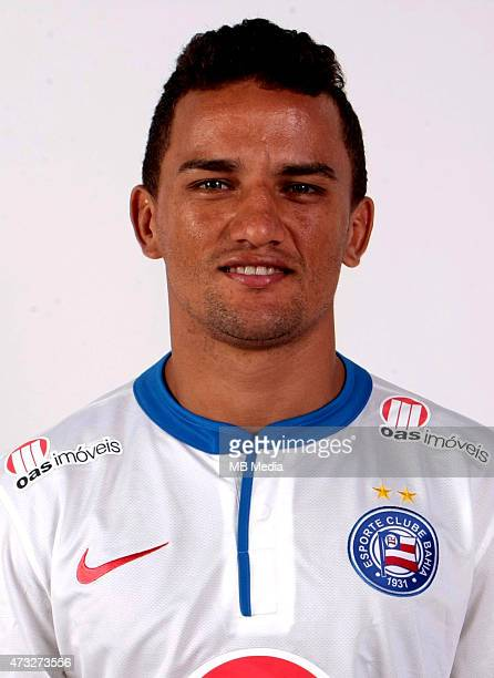 Raul of Esporte Clube Bahia poses during a portrait session August 14 2014 in SalvadorBrazil