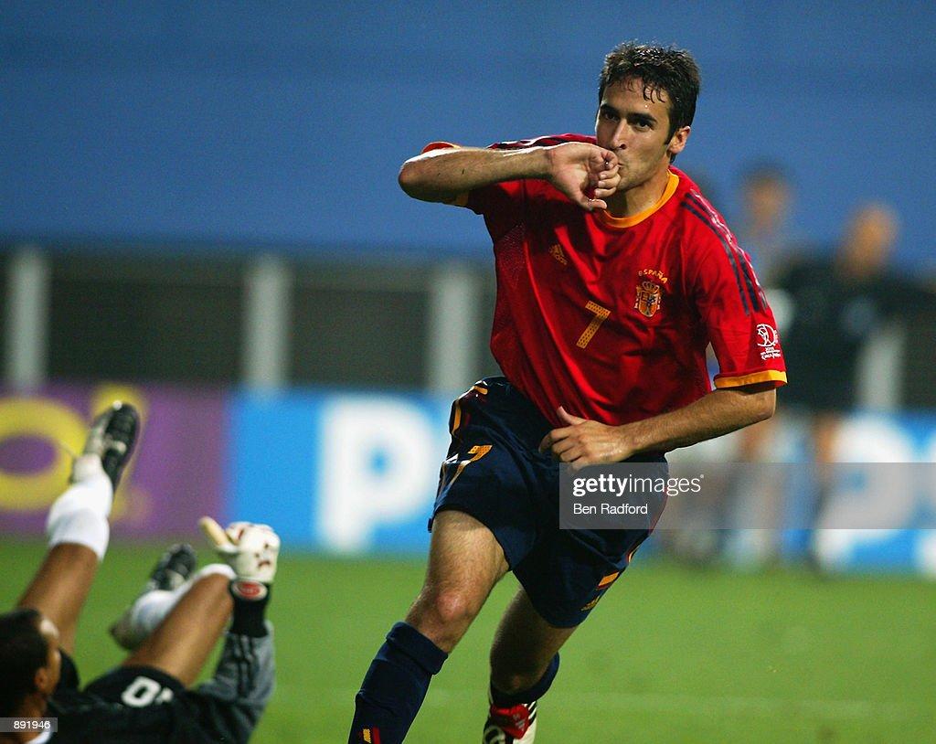 Raul of Spain : News Photo