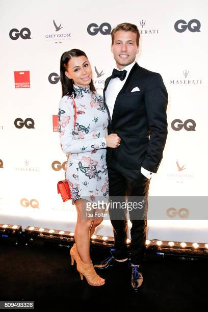Raul Richter and his girlfriend Jessy attends the GQ Mension Style Party 2017 at Austernbank on July 5 2017 in Berlin Germany