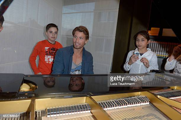Raul Richter attends the 'SOS Kinderdorf' Christmas Bakery at the Hotel Hyatton November 26 2013 in Berlin Germany
