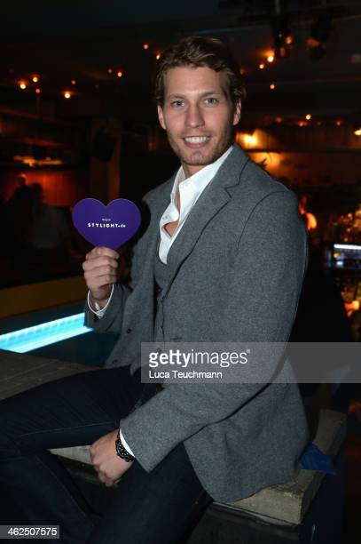 Raul Richter attends the Stylight Fashion Blogger Awards after show party at Prince Charles on January 13 2014 in Berlin Germany
