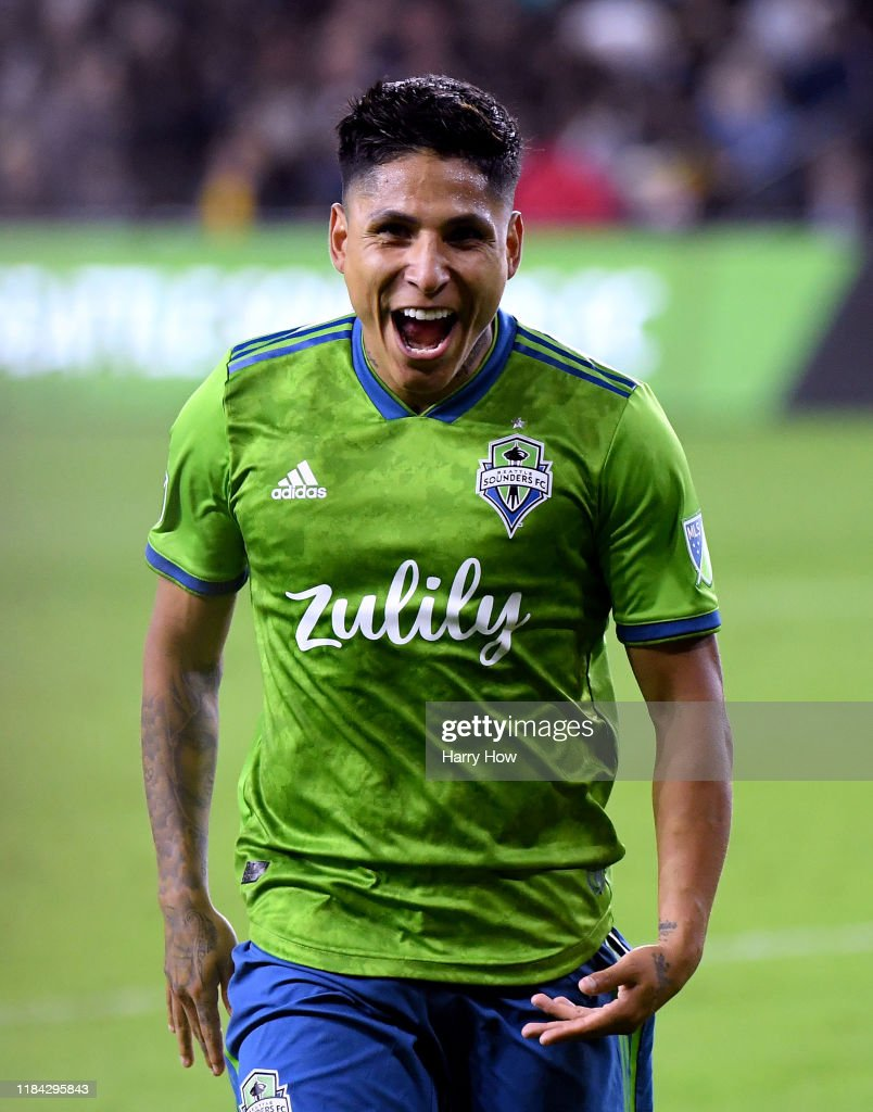 Seattle Sounders v Los Angeles FC - Western Conference Finals : News Photo