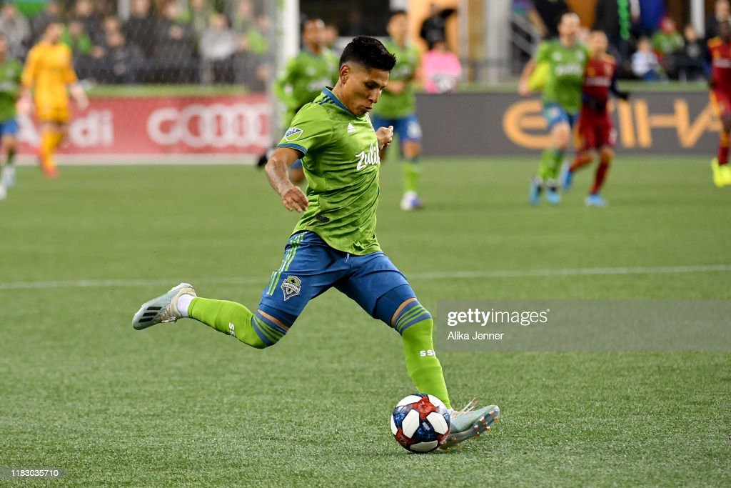 Real Salt Lake v Seattle Sounders FC - Western Conference Semifinals : News Photo