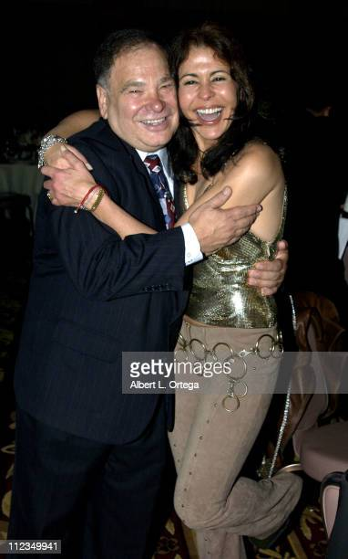 Raul Yzaguirre and Maria Conchita Alonso during 2002 ALMA PreAwards Gala at The Regal Biltmore Hotel in Los Angeles California United States