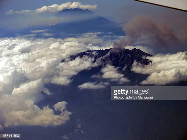 Raung volcano