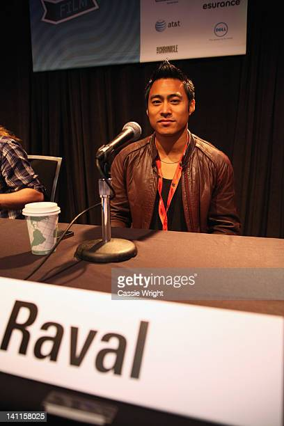 Raval attends The Great Cinematography Shootout Panel during the 2012 SXSW Music Film Interactive Festival at Austin Convention Center on March 11...