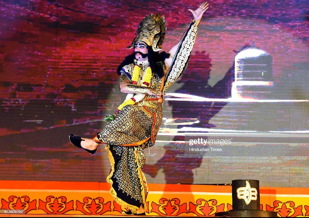 Ravan Prayer shiv Pooja performing during the Ramlila