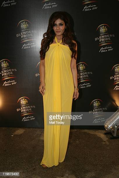 Raveena Tandon at the Blenders Pride Fashion Tour 2011 announcement at Tote Mumbai on July 20 2011