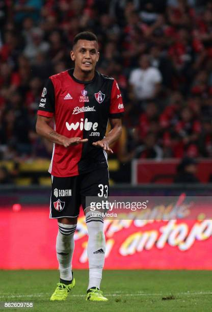 Ravel Morrison of Atlas looks on during the 10th round match between Atlas and Morelia as part of the Torneo Apertura 2017 Liga MX at Jalisco Stadium...