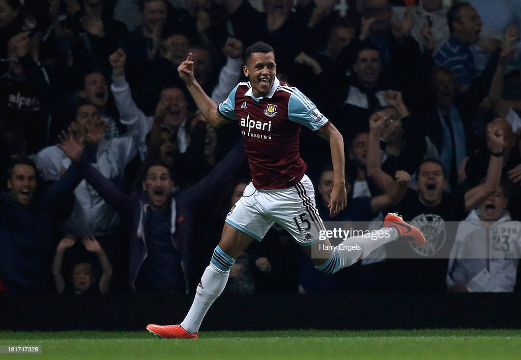 West Ham United v Cardiff City - Capital One Cup Third Round : News Photo