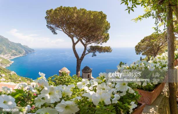 ravello, amalfi coast, sorrento - sorrento stock pictures, royalty-free photos & images