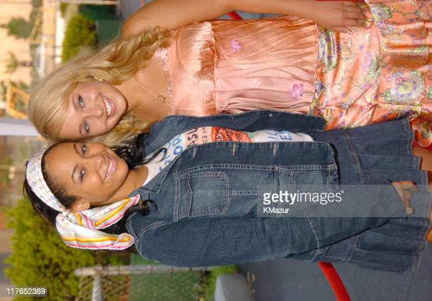 """Raven and Hayden Panettiere during the New York Premiere of """"Tiger Cruise"""" at the Intrepid Sea-Air-Space Museum on August 3, 2004. """"Tiger Cruise""""..."""