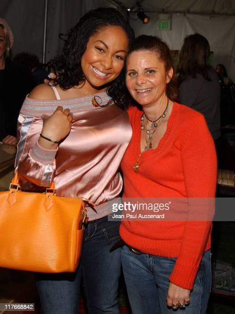 Raven and Jennifer Kaufman during Silver Spoon PreGolden Globe Hollywood Buffet Day 1 at Private Residence in Los Angeles California United States...