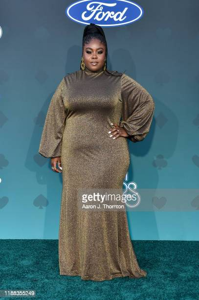 Raven Goodwin attends the Soul Train Music Awards on November 17 2019 in Las Vegas Nevada