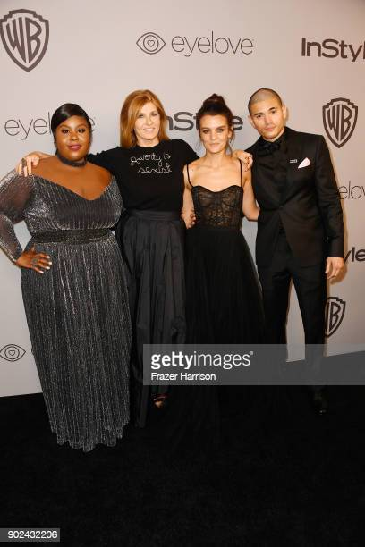 Raven Goodwin Connie Britton Frankie Shaw and Miguel Gomez attends 19th Annual PostGolden Globes Party hosted by Warner Bros Pictures and InStyle at...