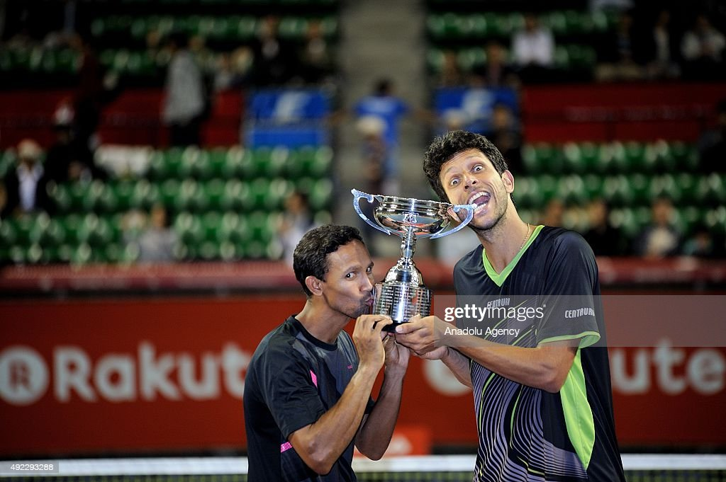 Rakuten Open 2015 : News Photo