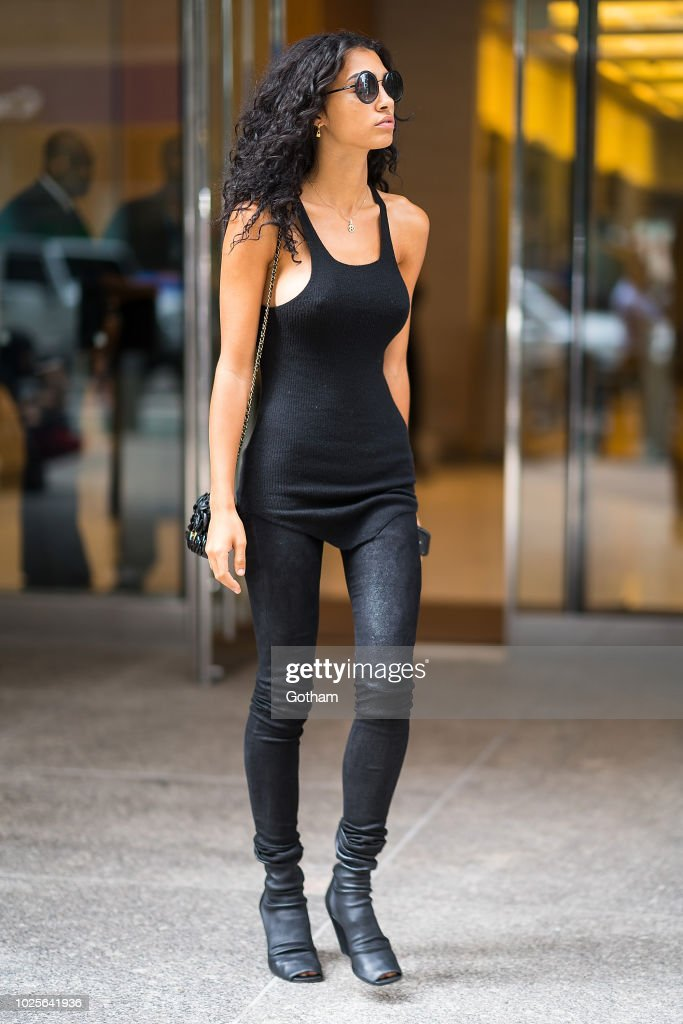 Raven Lyn Attends Casting For The 2018 Victoria S Secret Fashion