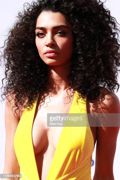 Raven Lyn attends the 50th NAACP Image Awards at Dolby Theatre on March 30 2019 in Hollywood California
