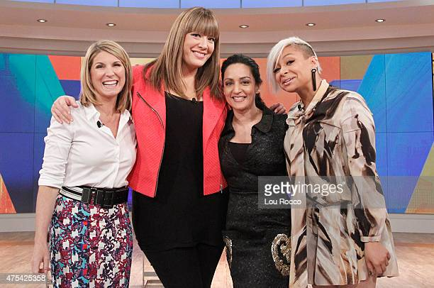 THE VIEW Raven Symone and Michelle Collins join cohosts Whoopi Goldberg and Nicolle Wallace on 'THE VIEW' 5/21/15 airing on the ABC Television...
