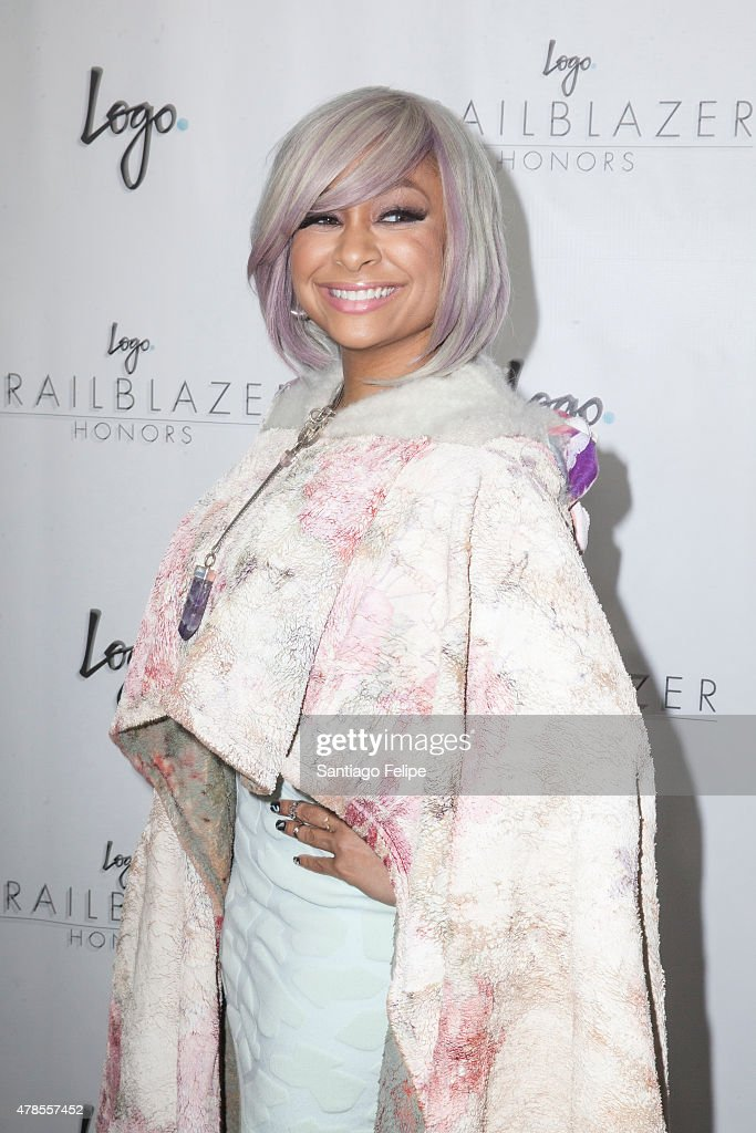 Raven Symone attends Logo TV's 'Trailblazers' at the Cathedral of St. John the Divine on June 25, 2015 in New York City.