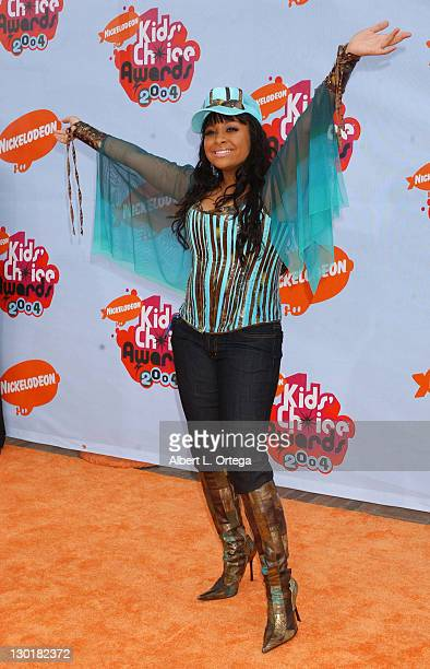 Raven Symone during Nickelodeon's 17th Annual Kids' Choice Awards Arrivals at Pauley Pavillion in Westwood California United States