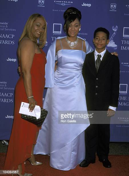 Raven Symone Mom Lydia Gaulden and Brother Blaize Pearman