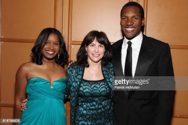 Raven Thomas Judy Dimon and Zaid AbdulAleem attend BALLET HISPANICO'S 40th Anniversary Spring Gala at The Plaza on April 19 2010 in New York City