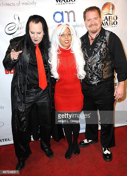 Raven Tremblay Vy Vetis and Micah Coven attend Britticares Toy Drive with a benefit concert by G Tom Mac Many Of Odd Nature in conjunction with...