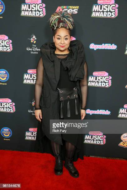 RavenSymoné attends the 2018 Radio Disney Music Awards at Loews Hollywood Hotel on June 22 2018 in Hollywood California