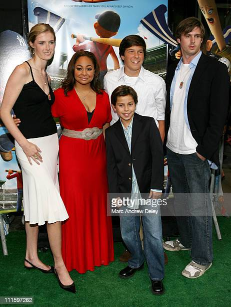 RavenSymone and Jake T Austin with Alexandra Reeve Will Reeve and Matt Reeve