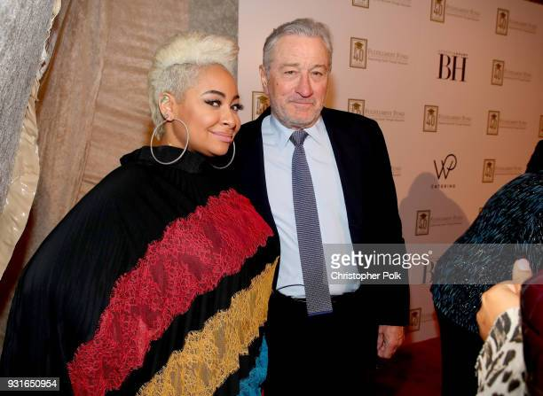 RavenSymone and Robert De Niro attend A Legacy Of Changing Lives presented by the Fulfillment Fund at The Ray Dolby Ballroom at Hollywood Highland...