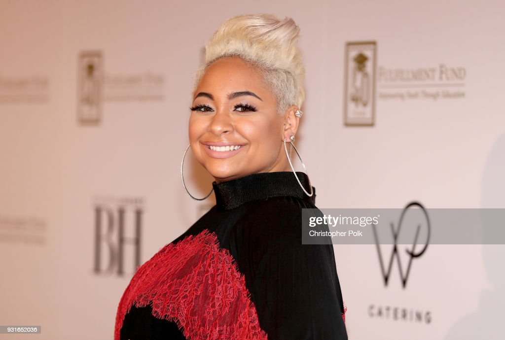 Raven-Symone attends A Legacy Of Changing Lives presented by the Fulfillment Fund at The Ray Dolby Ballroom at Hollywood & Highland Center on March 13, 2018 in Hollywood, California.