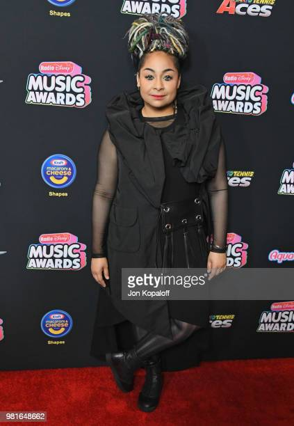 RavenSymone attends the 2018 Radio Disney Music Awards at Loews Hollywood Hotel on June 22 2018 in Hollywood California