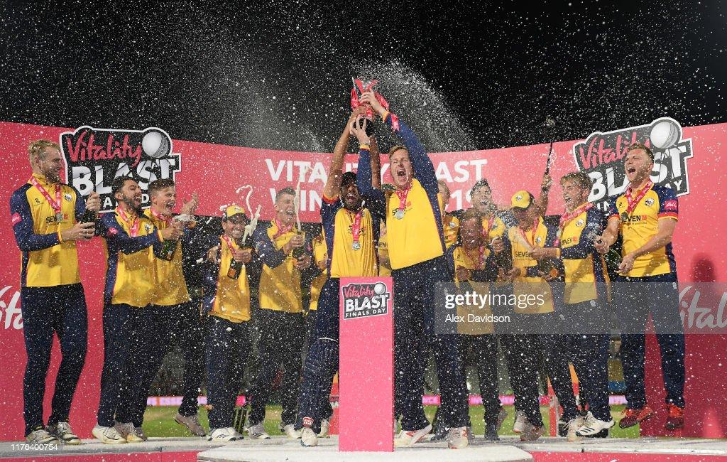 Worcestershire Rapids v Essex Eagles - Vitality T20 Blast Final : ニュース写真